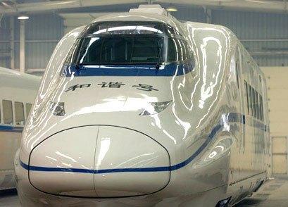 Китайский поезд - самый быстрый в мире