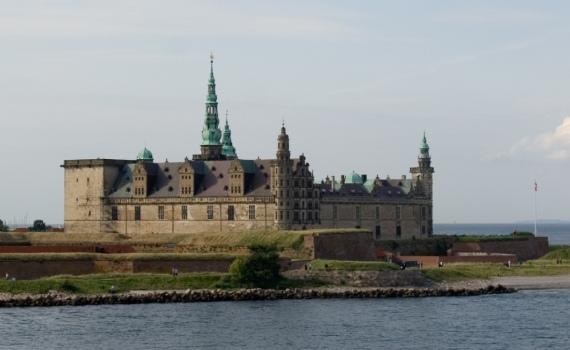 Дания, замок Кронборг