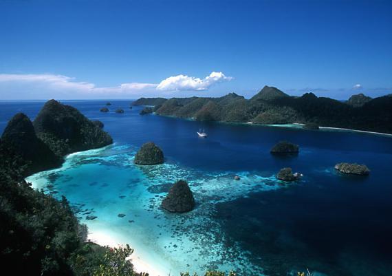 Национальный парк Комодо в Индонезии