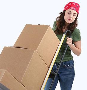 Офисный переезд - это много-много коробок