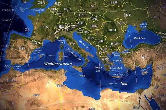 Отдых на Средиземном море популярен среди европейцев