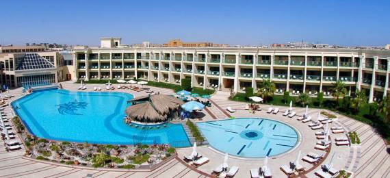 Один из отелей Хургады, Египет