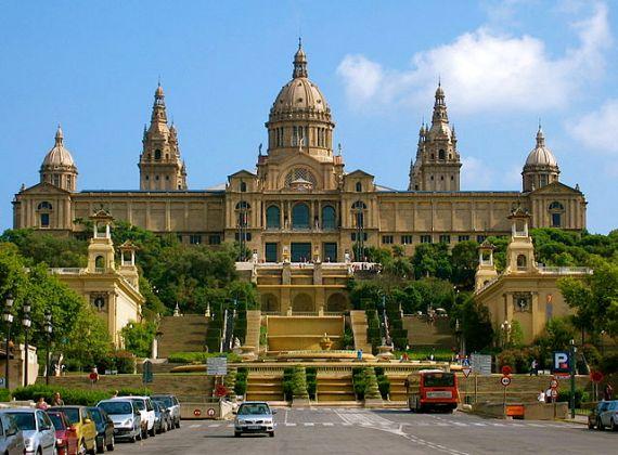 Барселона, Национальный музей искусств Каталонии