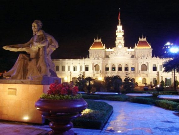 Городской театр в Хошимине, Вьетнам