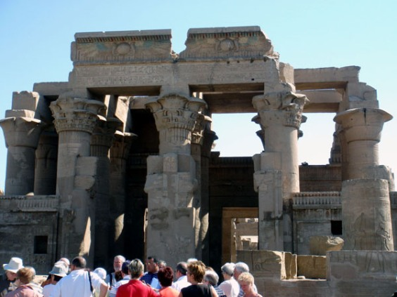 Египет: Храм бога крокодила Себека