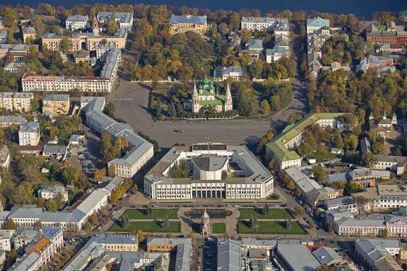 Центр города Ярославль