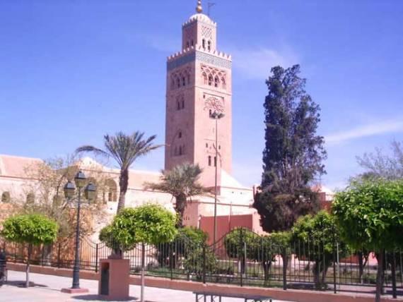 Мечеть Кутубия – самая большая и одна из древнейших мечетей марокканского города Марракеша
