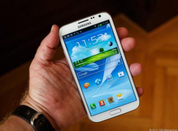 Новая система на чипе все-таки сделана для смартфона Samsung Galaxy Note2