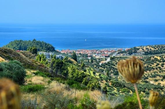Греция: курортный городок Посиди