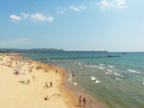 Пляж близ Анапы