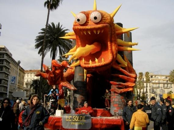 Карнавал в Ницце начнется 17 февраля 2012 года