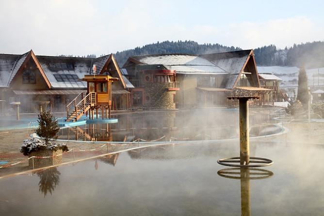 Словакия, термальный курорт Бешенева