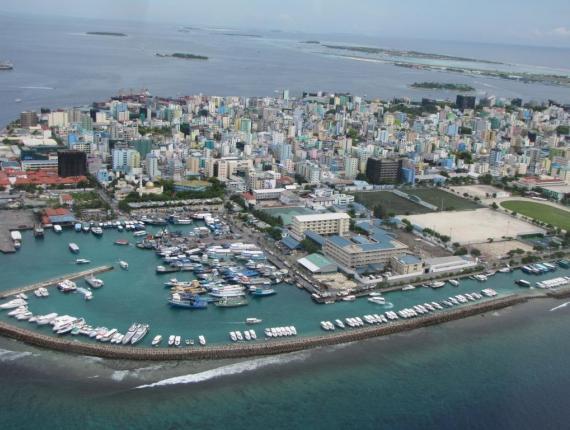 Город Мале - столица Мальдивской республики