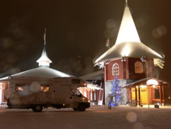 Зимняя резиденция Санта Клауса в Финляндии