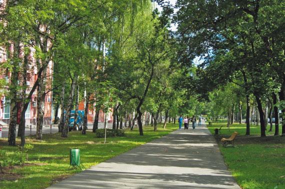 Гоголевский бульвар - часть бульварного кольца Москвы