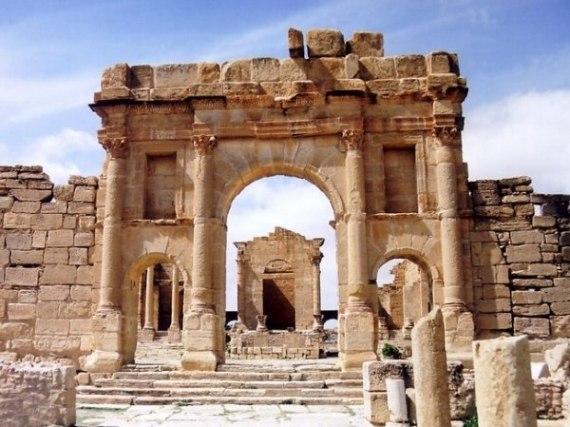 Тунис, развалины Карфагена