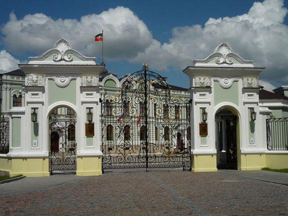 Дворец президента Татарстана