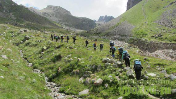 Поход по Приэльбрусью с восхождением на Эльбрус