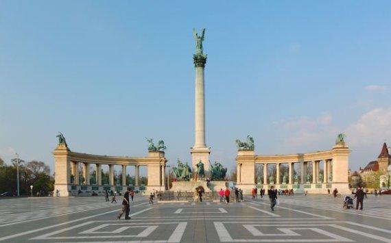Будапешт, Центральная площадь