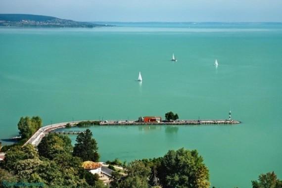 Венгрия, озеро Балатон