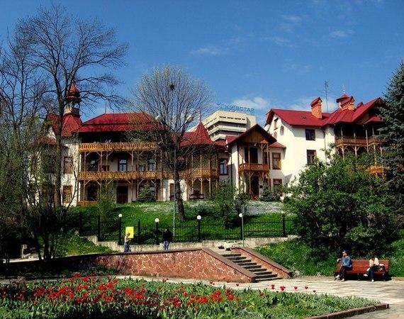 Курорты Украины: Трускавец