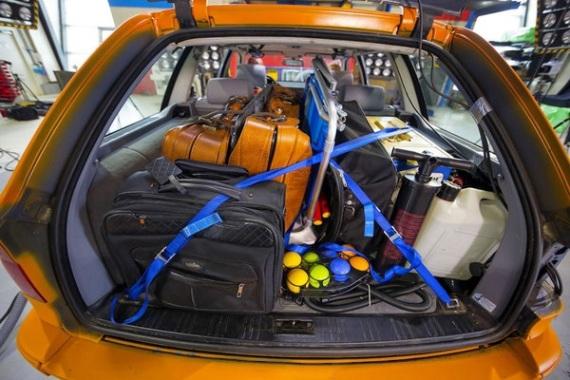 Багаж в автомобильной поездке