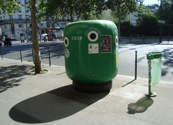В Париже чисто не там, где метут, а там, где не мусорят