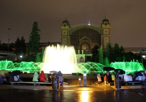 Кржижиков фонтан, Чехия