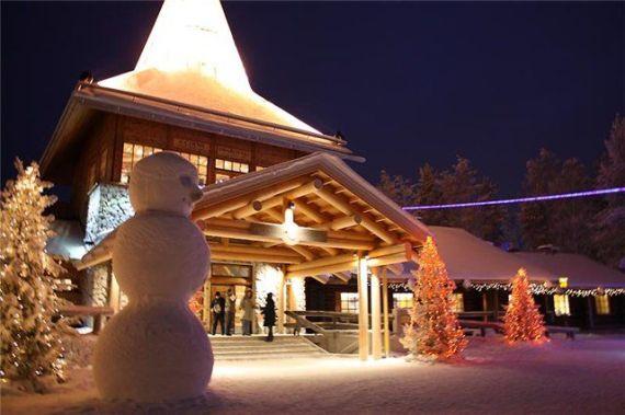 Санта-Клаус живет в Финляндии