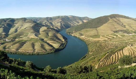 Долина реки Дору в Португалии