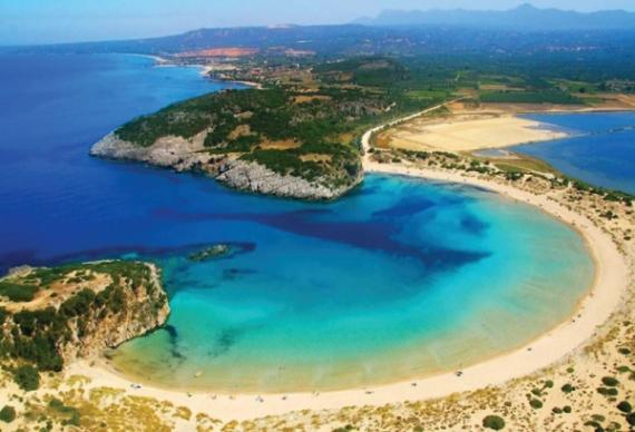 На полуострове Пелопоннес в Греции расположена область Мессиния