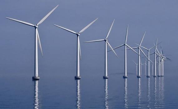 Ветроэнергетические фермы в Голландии