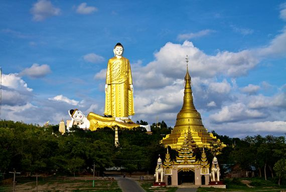 В Мьянме есть на что посмотреть
