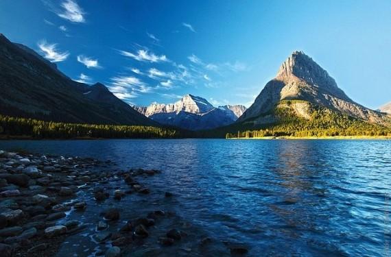 Национальный парк Глейшер в США, штат Монтана