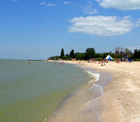 Городской пляж в Ейске