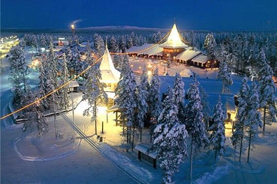 Встреча Нового Года в Финляндии
