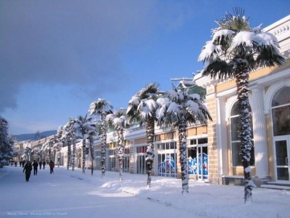 Зимние выходные в Крыму: Ялта