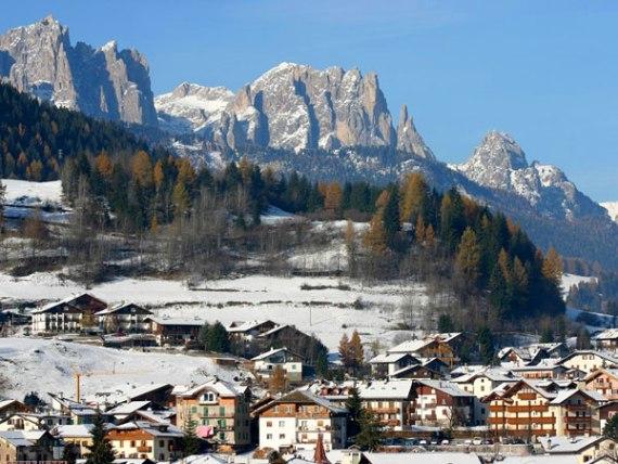 Горнолыжная Италия: Моэна зимой