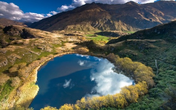 Новая Зеландия - страна сказочных ландшафтов