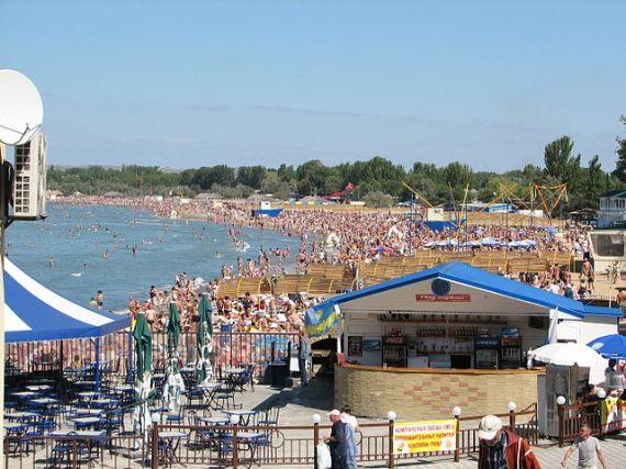 Анапа, городской пляж