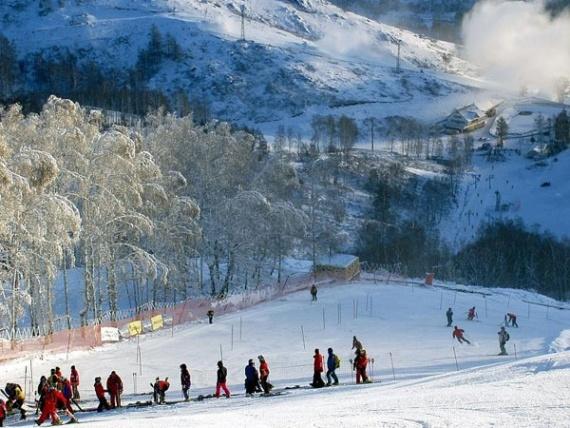 Башкирия - идеальная для горнолыжного отдыха зима