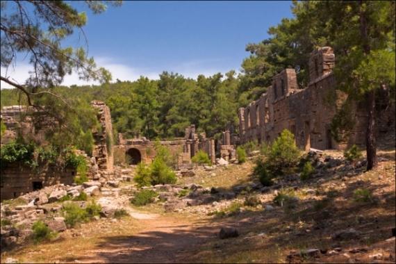 Селевкия - древний город в Турции