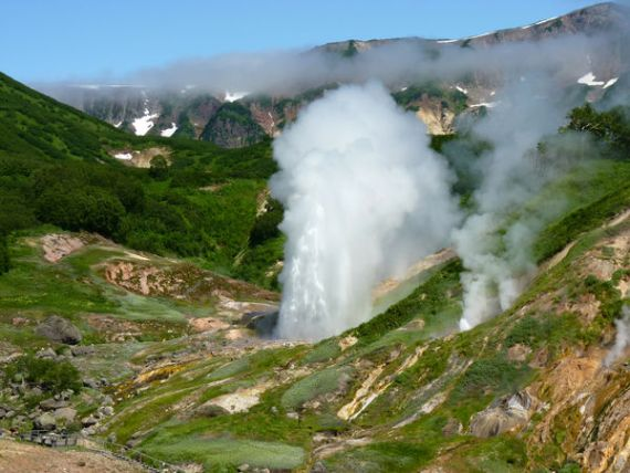 Долина гейзеров в России