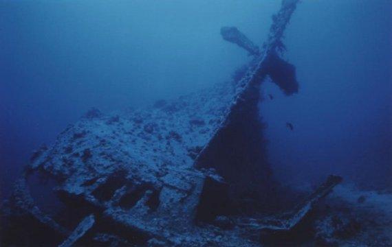Обломки корабля Dunraven