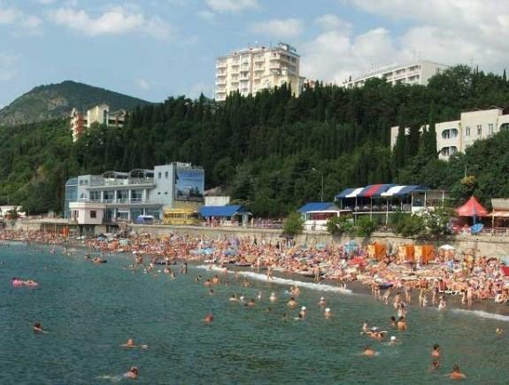 Алуштинский пляж