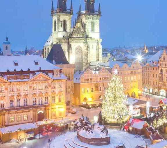 Прага, Новый год