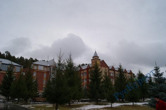 Санаторий «Обуховский» работает круглый год