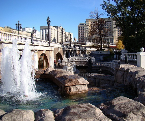 Александровский сад, фонтан