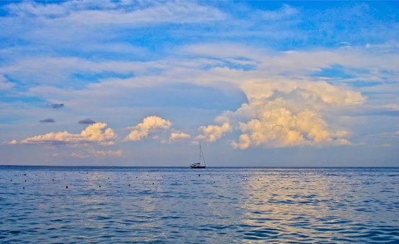 Феодосийский залив, закат