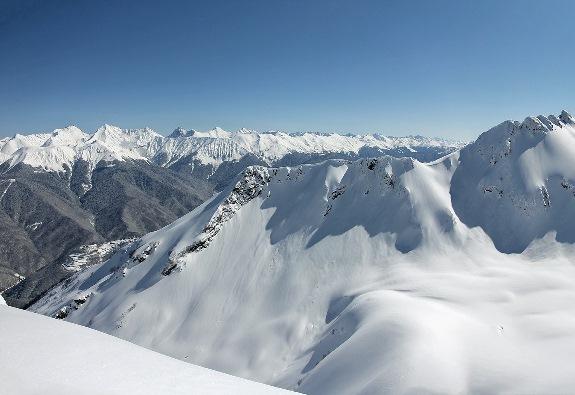 Чудесные пейзажи, комфортабельные отели и лучшие зимние развлечения - все это здесь, в горном Сочи